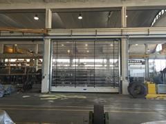 porta industriale impacchettamento